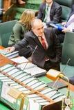 O parlamento vitoriano do estado - Question Time Fotos de Stock Royalty Free