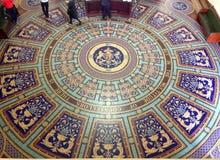 O parlamento vitoriano pavimenta Fotos de Stock Royalty Free
