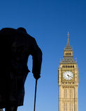 O parlamento westminster de ben grande Londres Fotografia de Stock