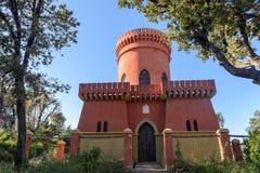 O parque bonito da casa de campo Pallavicini, nos joelhos, Itália Imagens de Stock