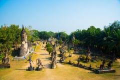 O parque da Buda em Vientiane Fotografia de Stock Royalty Free