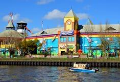 O parque da costa foto de stock royalty free