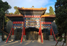 O parque de Beihai, Beijing Imagens de Stock