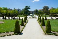 O parque de Buen Retiro no Madri Foto de Stock