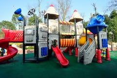 O parque de diversões das crianças Fotografia de Stock Royalty Free