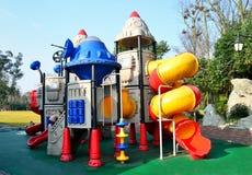 O parque de diversões das crianças Foto de Stock