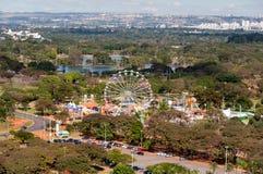 O parque de diversões de Brasília Fotos de Stock