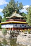 O parque de Norbulingka em Lhasa fotos de stock