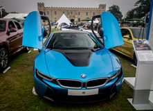 O parque de Syon, esportes super de Prive do salão de beleza de Londres viaja de automóvel a feira automóvel Ferarri, Zonda, BMW, Imagens de Stock