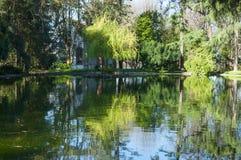 O parque dentro do Palacio faz Cristal, Porto, Portugal Foto de Stock