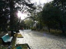O parque do recurso no Cáucaso Fotografia de Stock