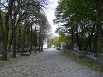 O parque do recurso no Cáucaso Imagem de Stock