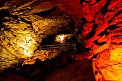 Caverna gigantesca imagens de stock royalty free