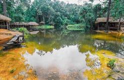 O parque nacional de Kirirom está na montanha de Kirirom situada na província Camboja de Speu do Kampong Imagem de Stock Royalty Free