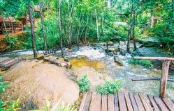 O parque nacional de Kirirom está na montanha de Kirirom situada na província Camboja de Speu do Kampong Foto de Stock Royalty Free
