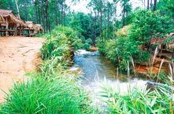 O parque nacional de Kirirom está na montanha de Kirirom situada na província Camboja de Speu do Kampong Fotos de Stock Royalty Free