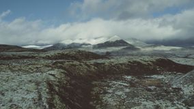 O parque nacional de Rondane em Noruega video estoque