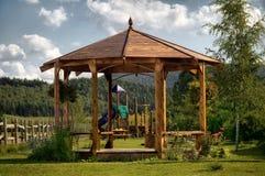 O parque pequeno Imagem de Stock Royalty Free