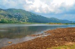 O parque regional do lago Matese, Campania, Molise, Itália, Europa, San Gregorio Matese Imagem de Stock Royalty Free