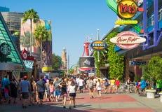 O parque temático universal de Orlando Resort Fotos de Stock Royalty Free