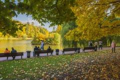 O parque Tsaritsyno em Moscou Imagem de Stock