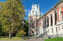 O parque Tsaritsyno, Rússia Fotografia de Stock Royalty Free