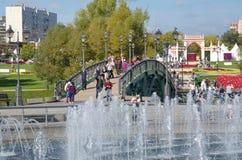 O parque Tsaritsyno, Rússia Imagem de Stock Royalty Free