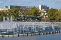 O parque Tsaritsyno, Rússia Imagens de Stock
