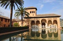 O partal, o Alhambra Fotos de Stock