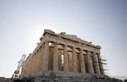 O Parthenon imagens de stock royalty free