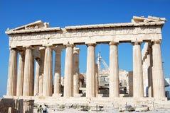 O Parthenon, Atenas fotografia de stock