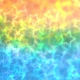 O partido borrado colorido stars o fundo Fotografia de Stock Royalty Free