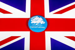 O partido conservador imagem de stock royalty free