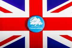 O partido conservador fotografia de stock royalty free