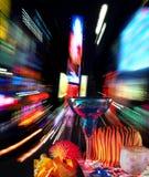 O partido do ano novo esquadra às vezes Imagem de Stock