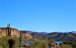 4o passeio anual para os cavalos selvagens de Salt River, o Arizona da motocicleta, Estados Unidos imagens de stock royalty free