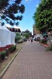 O passeio em Campos faz a cidade de Jordao, Sao Paulo, Brasil foto de stock royalty free