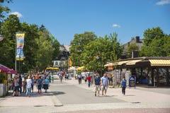 O passeio em Titisee-Neustadt Fotografia de Stock