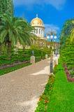 O passeio no jardim Fotografia de Stock Royalty Free