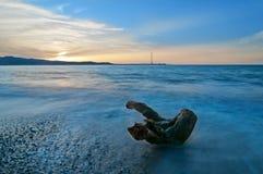 O passo de Messina e de seu tronco. Fotos de Stock Royalty Free