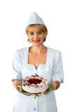 O pasteleiro Fotografia de Stock Royalty Free