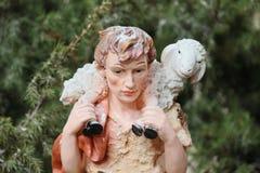 O pastor na natividade Imagem de Stock Royalty Free