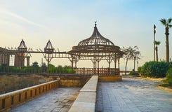 O patamar do palácio do al-Gawhara, o Cairo, Egito imagem de stock