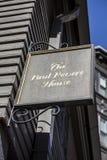 O Paul Revere a casa Fotografia de Stock