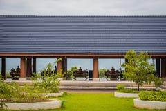 O pavilhão de Tailândia 'Wat Den Salee Sri Muang Gan nomeado templo Wat Ban Den ' imagens de stock