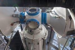 O pavilhão do espaço no centro de exposição de Todo-Rússia Fotos de Stock