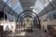 O pavilhão do espaço no centro de exposição de Todo-Rússia Foto de Stock Royalty Free