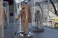 O pavilhão do espaço no centro de exposição de Todo-Rússia Imagens de Stock Royalty Free
