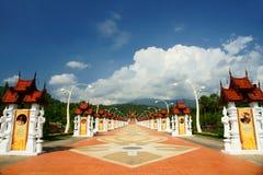 O pavilhão real 2 Foto de Stock