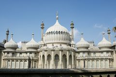 O pavilhão real brigghton Imagem de Stock Royalty Free